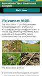 Mobile Preview of alge.org.uk