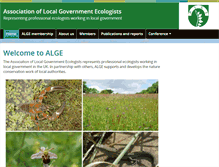 Tablet Preview of alge.org.uk